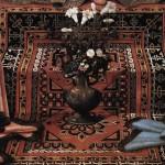 MADONNA CON BAMBINO (MADONNA AND CHILD) – Domenico Ghirlandaio 1480 – Particolare del tappeto